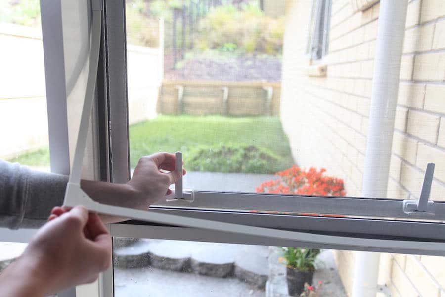 casement window flyscreen Dallas