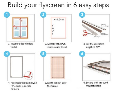 diy window screen kit