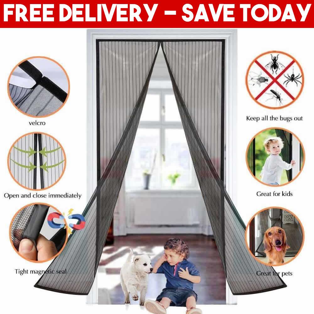 magnetic insect screen door supplier